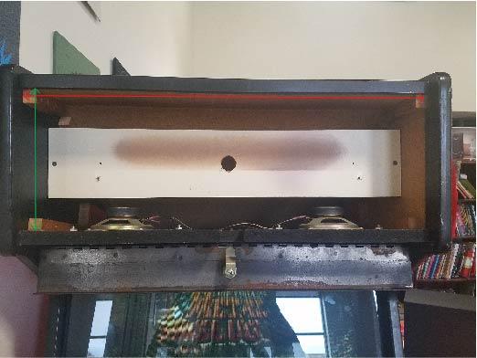2 slot upright with no el panels